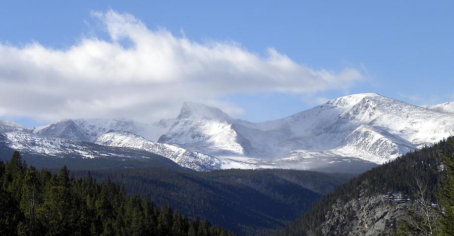 Denver Photograph - Denver Mountains by Julie Palencia