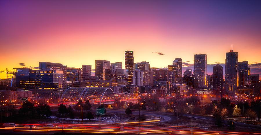 Denver Sunrise Photograph