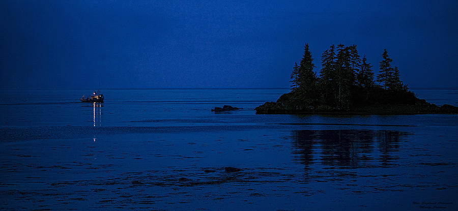 Coastal Photograph - Departure Before First Light by Marty Saccone