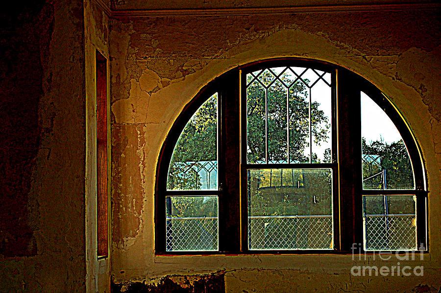 Railroads Photograph - Depot Window by Anjanette Douglas