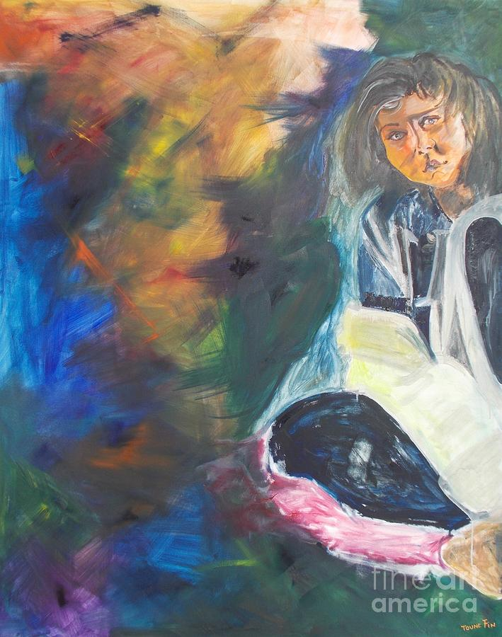 Bipolar Painting - Depression by PainterArtist FIN