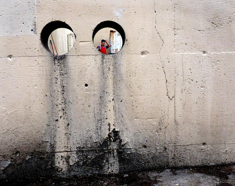 Wall Photograph - Depth Perception by Lin Haring