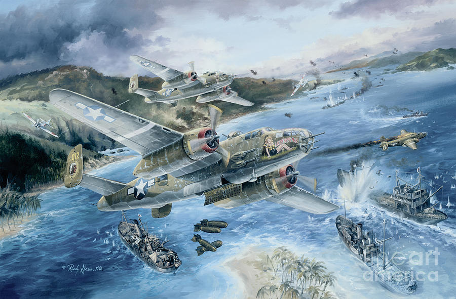 Prints Painting - Derailing The Tokyo Express by Randy Green