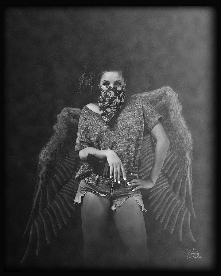 Angel Photograph - Derangel by Doug LaRue