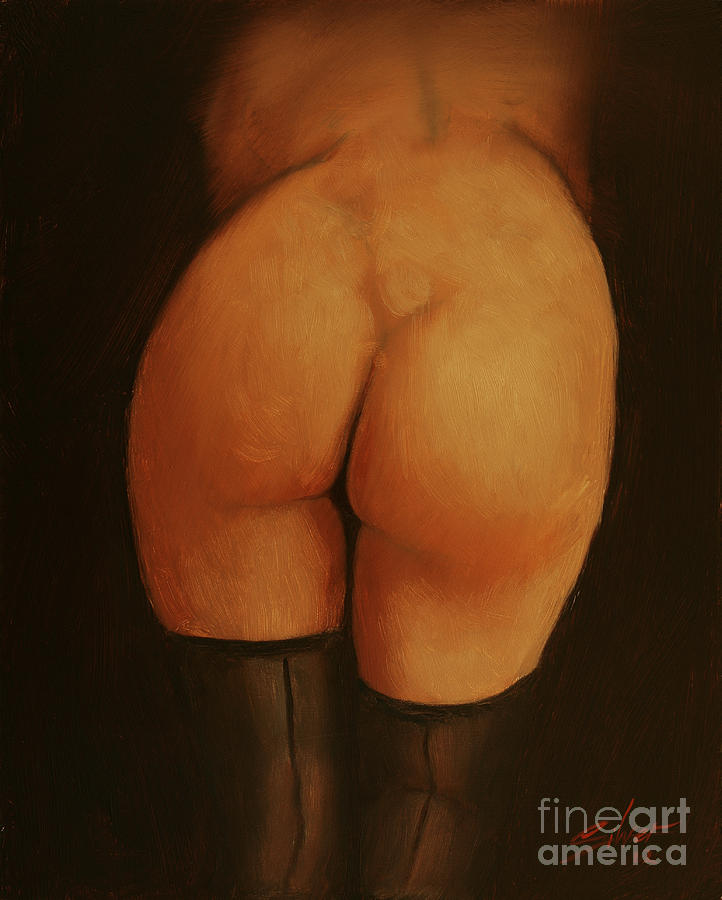 Paintings Painting - Derriere by John Silver