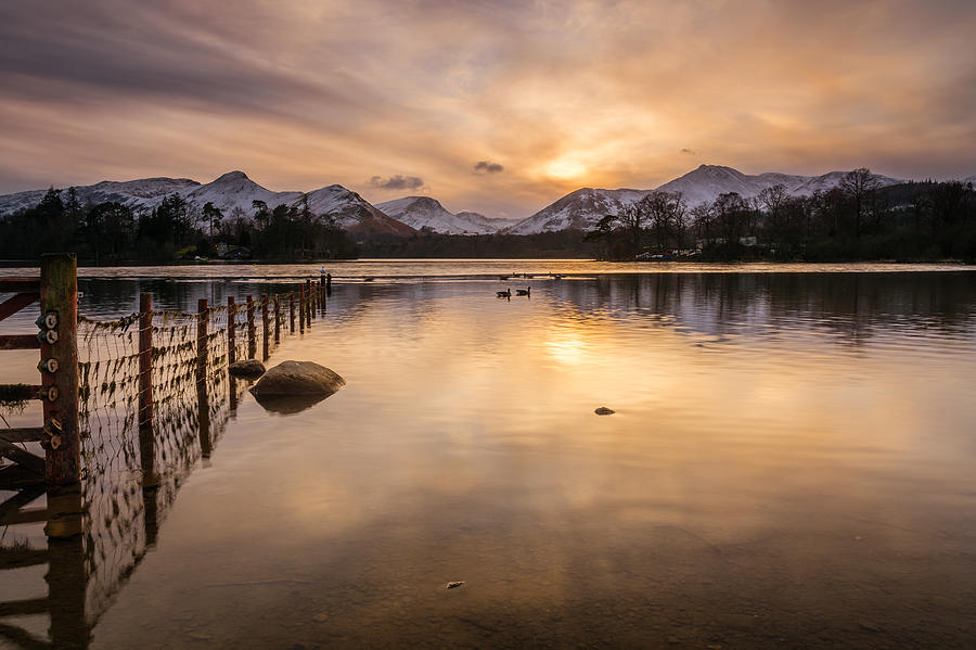Derwent Water And Catbells Photograph