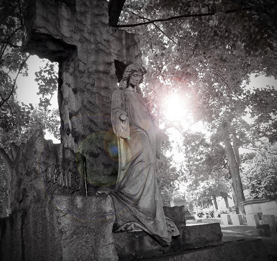 Tomb Photograph - Descend by Felix Concepcion