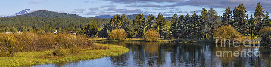 Deschutes Photograph - Deschutes River Panorama by Twenty Two North Photography