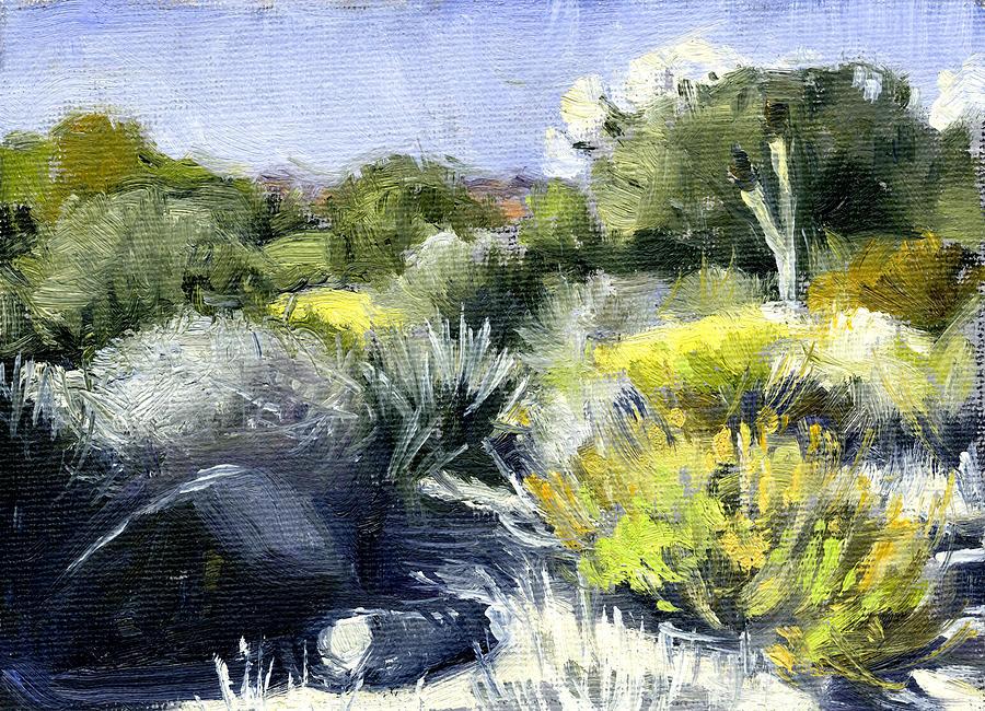 Desert Painting - Desert 2 by Stacy Vosberg