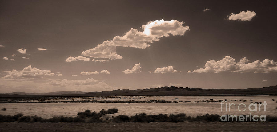 Landscape Photograph - Desert Clouds by Gregory Dyer