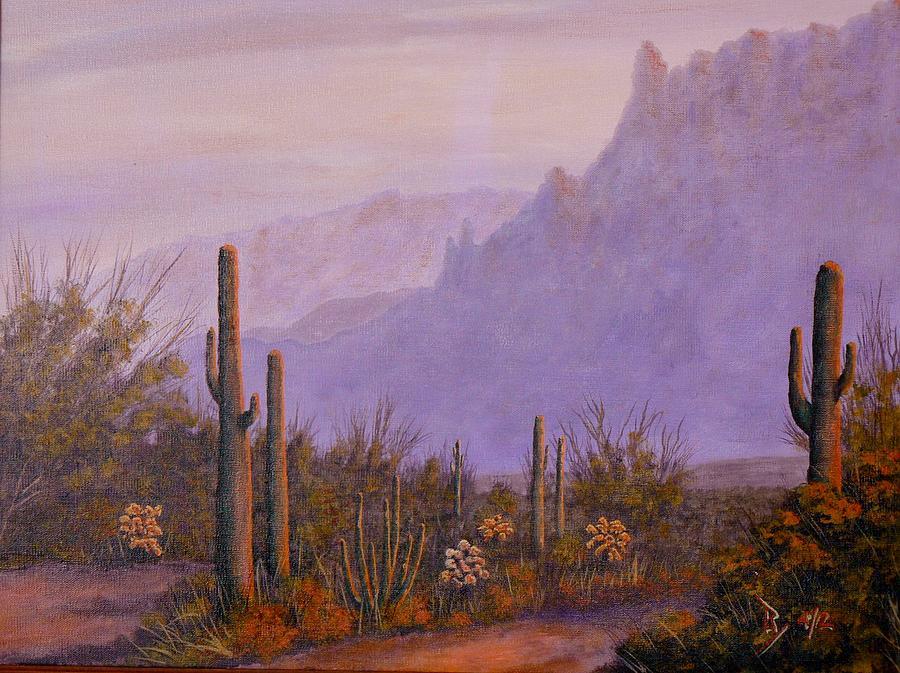 Desert Dusk by Ray Nutaitis