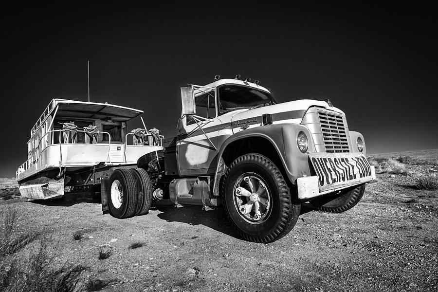 Desert Photograph - Desert Houseboat by Nancy Strahinic