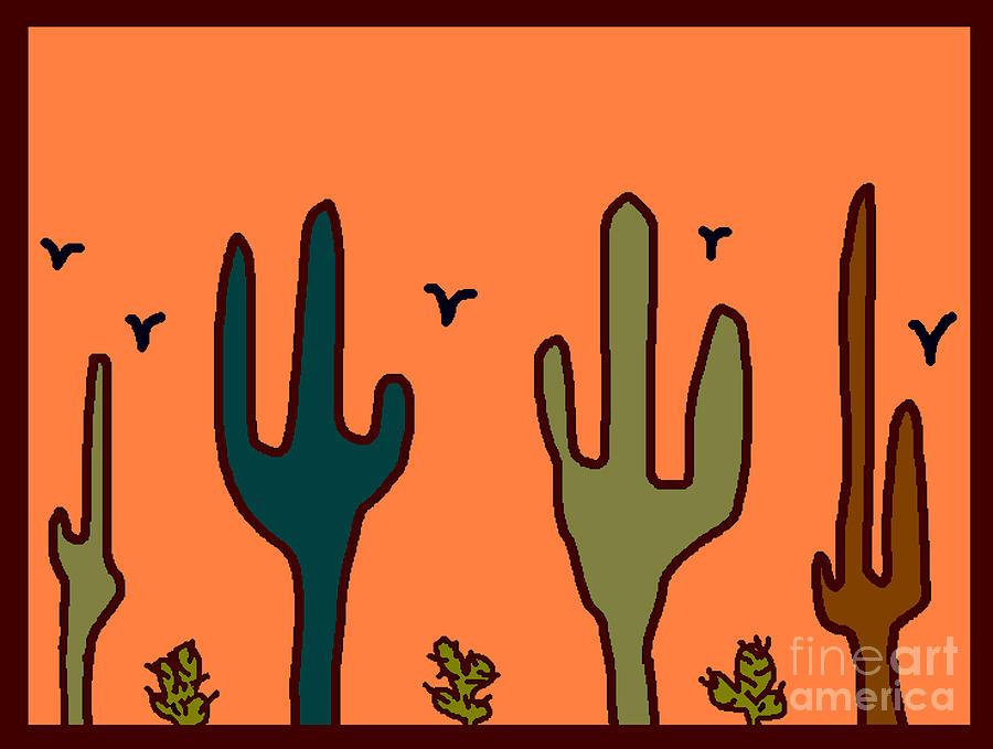 Desert Digital Art by Meenal C