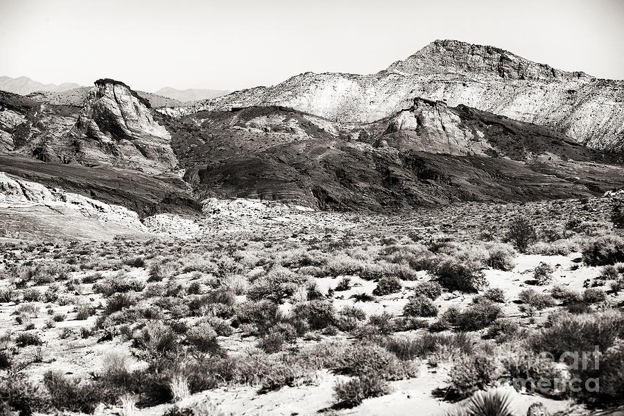 Desert Peaks Photograph - Desert Peaks by John Rizzuto