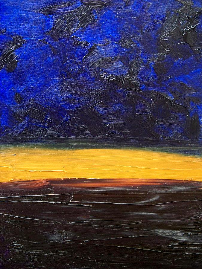 Landscape Painting - Desert Plains by Sergey Bezhinets