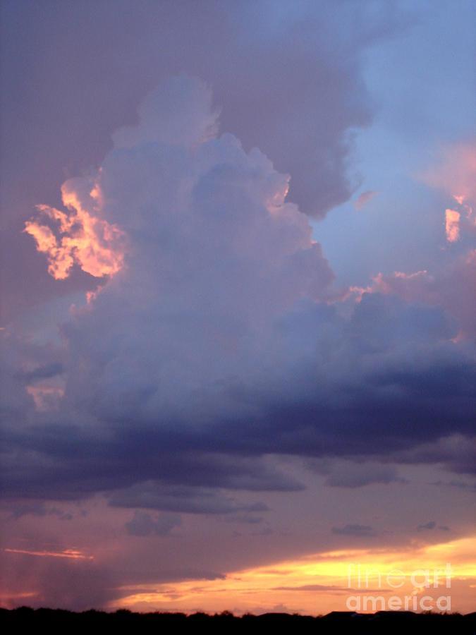Desert Photograph - Desert Rainstorm 5 by Kerri Mortenson