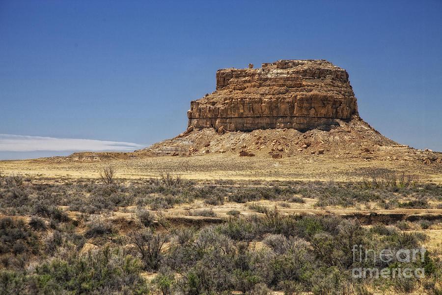 Desert Photograph - Desert Rock Formation by Timothy Hacker