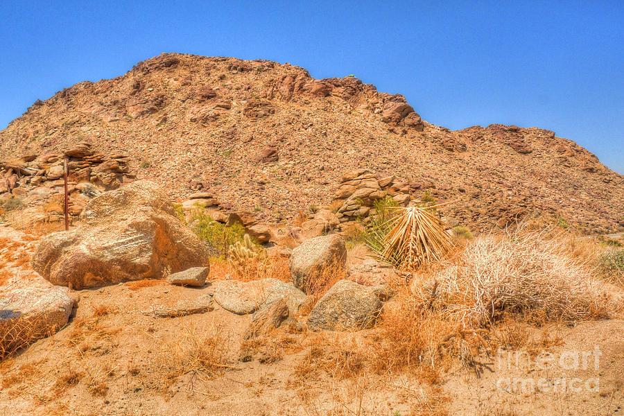 California Photograph - Desert Rocks by Deborah Smolinske