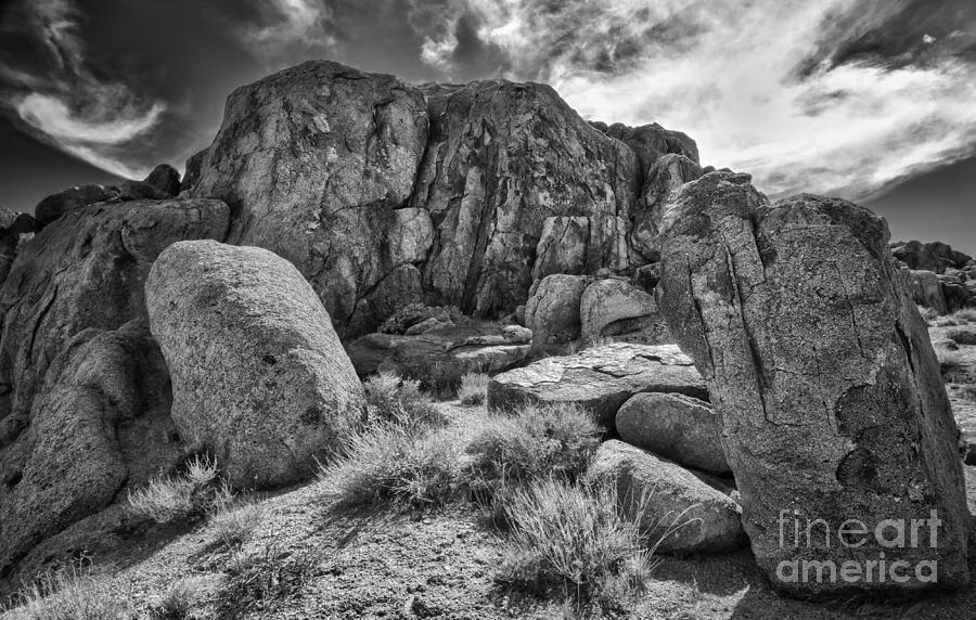 Desert Rocks Photograph