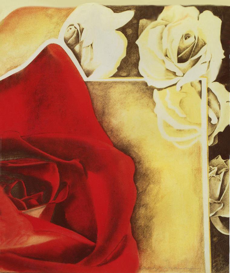 Desert Rose Drawing by Judy Paleologos