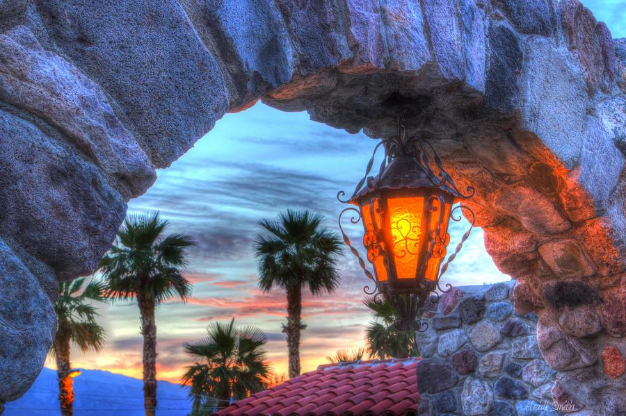 Death Photograph - Desert Sunset View by Heidi Smith