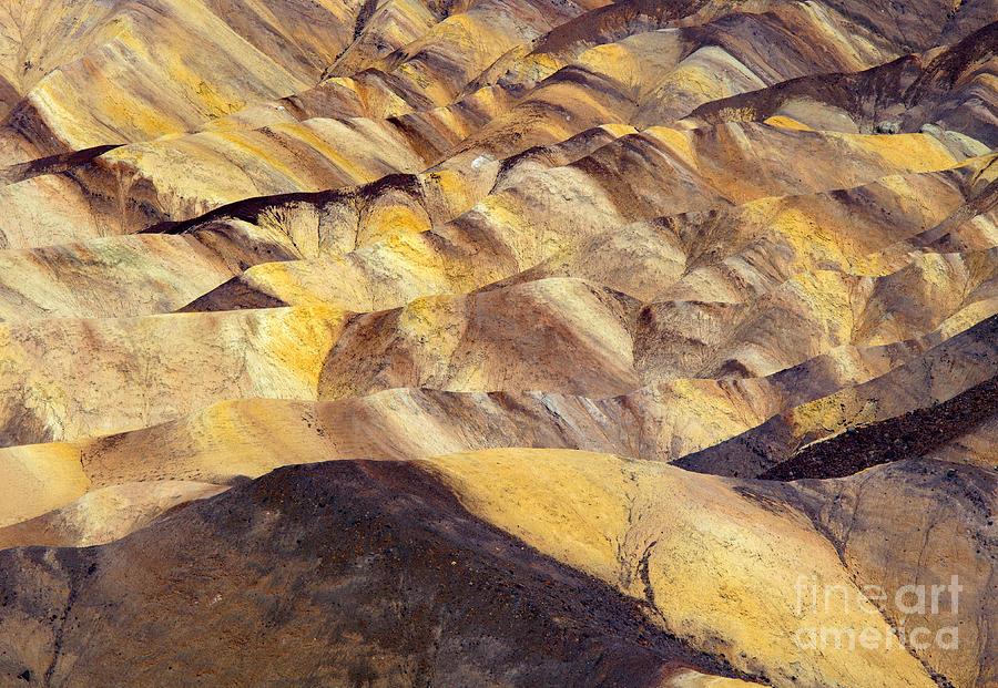 Zabriskie Point Photograph - Desert Undulations by Mike  Dawson