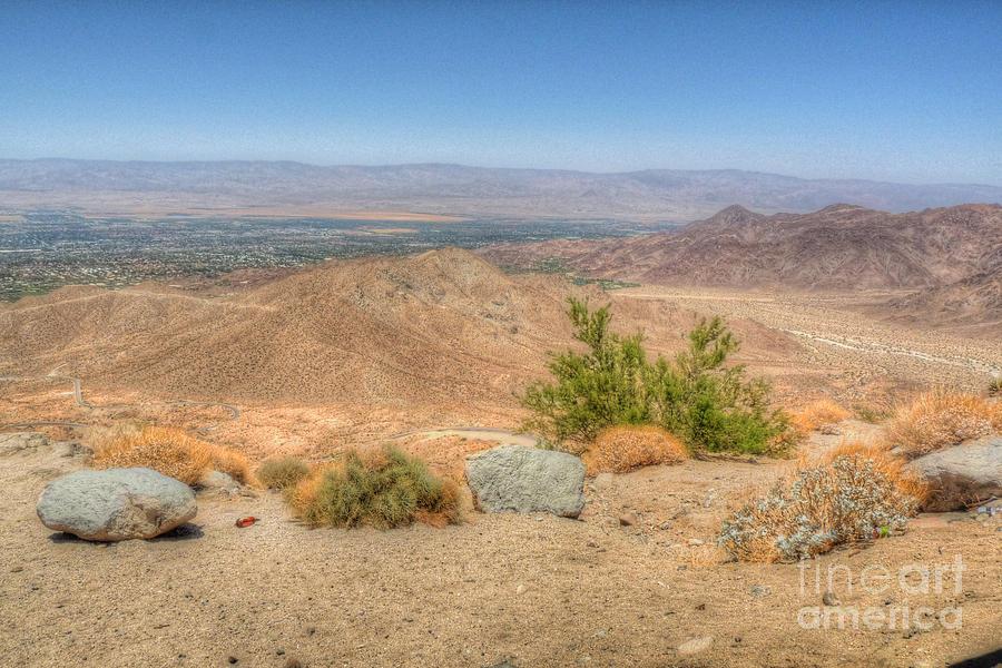 California Photograph - Desert View by Deborah Smolinske