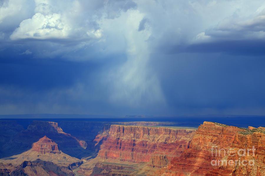 Grand Canyon Photograph - Desert View Grand Canyon by Bob Christopher