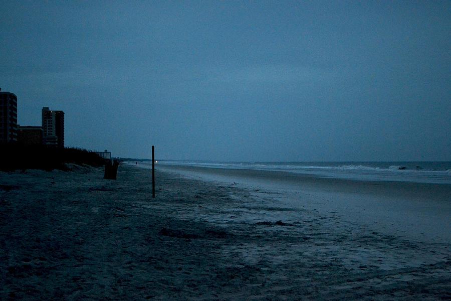 Deserted Digital Art - Deserted Beach by Victoria Clark