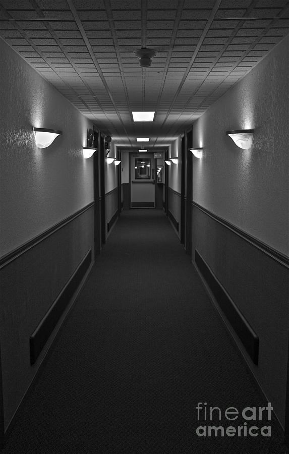 Hall Photograph - Deserted by Linda Bianic