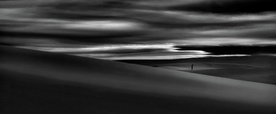 Sandstorm Photograph - Deserts Are The Soul Of The World ... by Yvette Depaepe