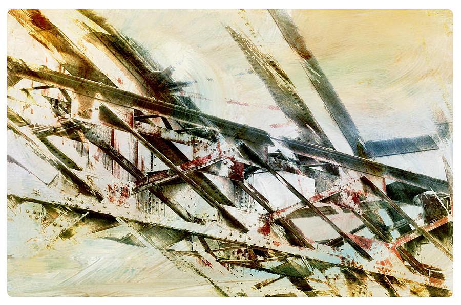 Steel Photograph - Design In Steel by Davina Washington
