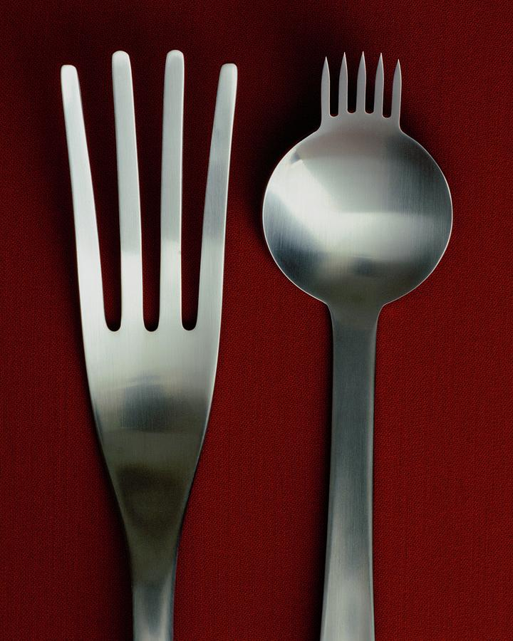 Designer Cutlery Photograph by Romulo Yanes