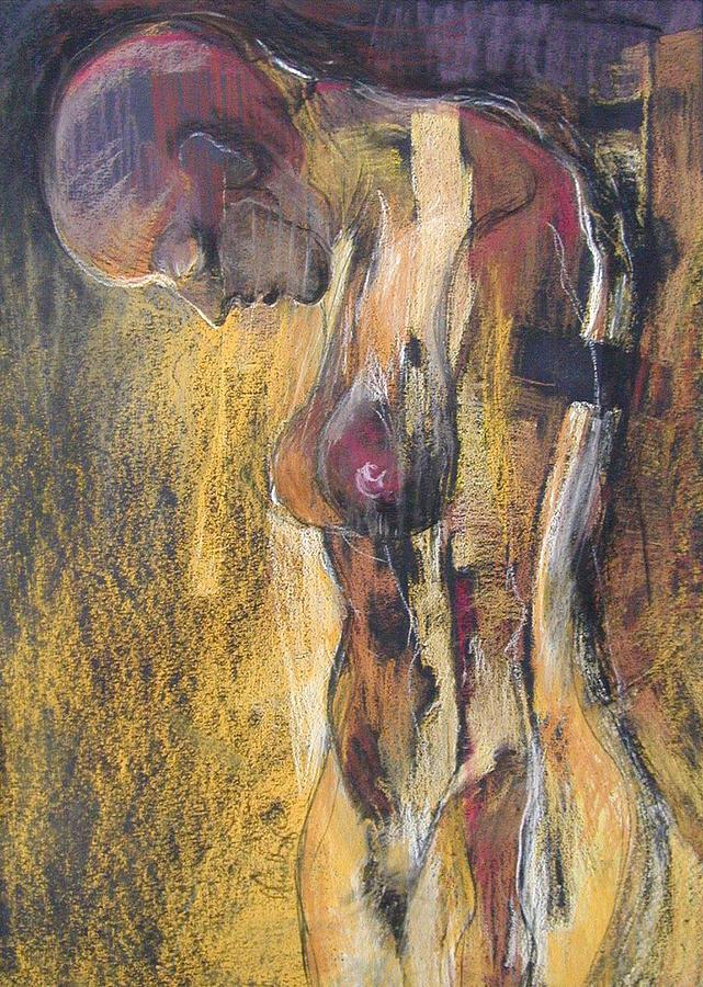 Spiritual Painting - Desire 2 by Alicja Coe