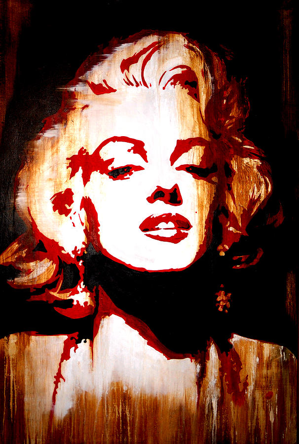 Marilyn Monroe Painting - Desire Marilyn Monroe by Brad Jensen