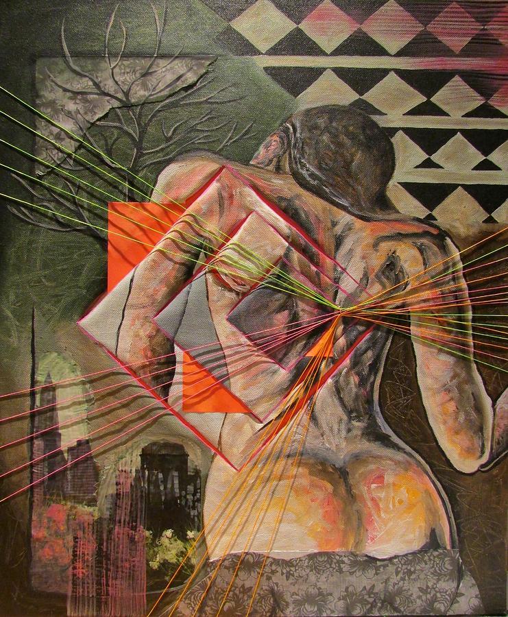 Woman Painting - Desire by Svetlana Rudakovskaya