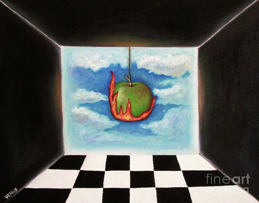 Surreal Painting - Desire by Venus