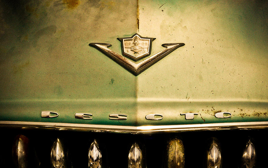 Old Photograph - Desoto by Merrick Imagery