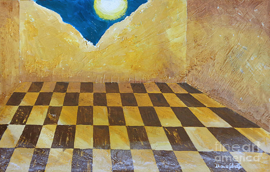 Surreal Painting - Despair by Marisa Gabetta
