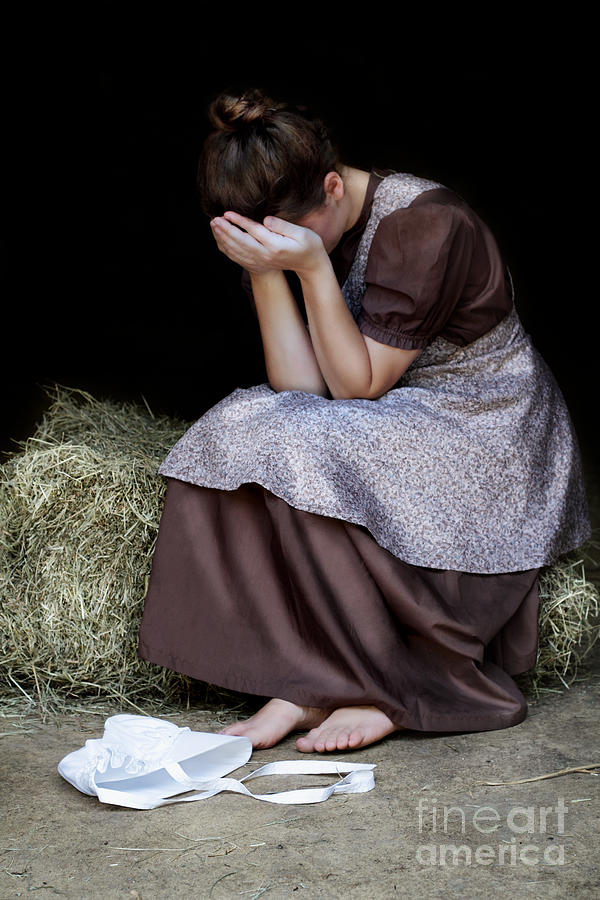 Praying Photograph - Despair by Stephanie Frey