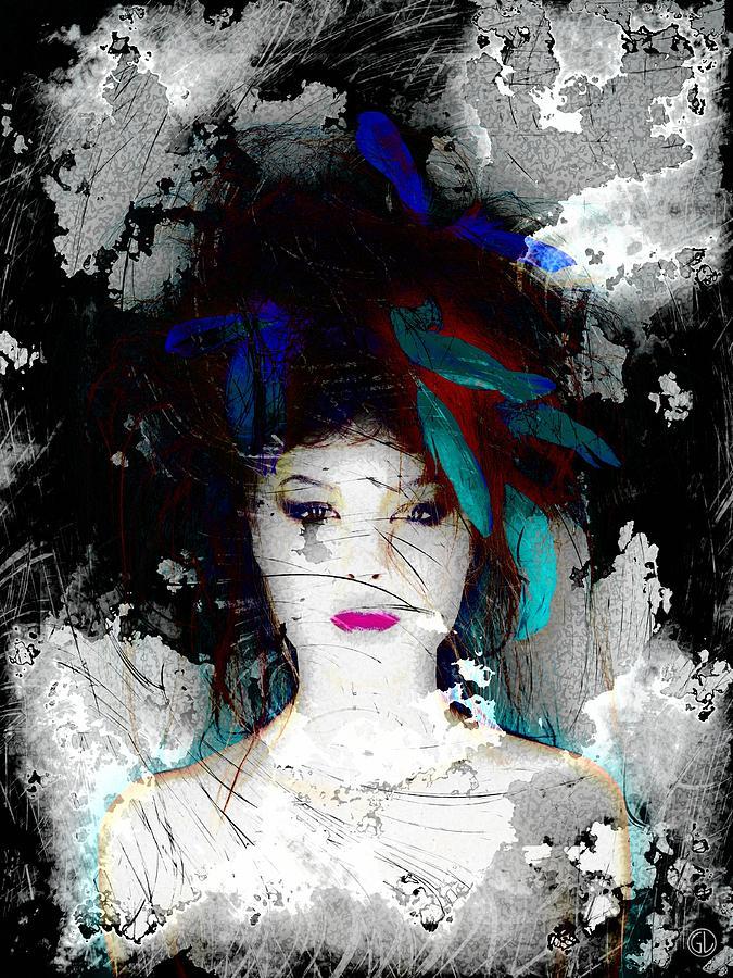 Woman Digital Art - Despite All by Gun Legler