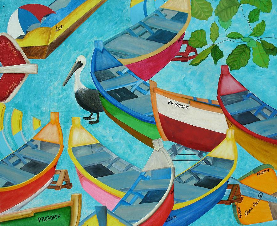 Yolas Painting - Despues De La Tormenta by Gloria E Barreto-Rodriguez