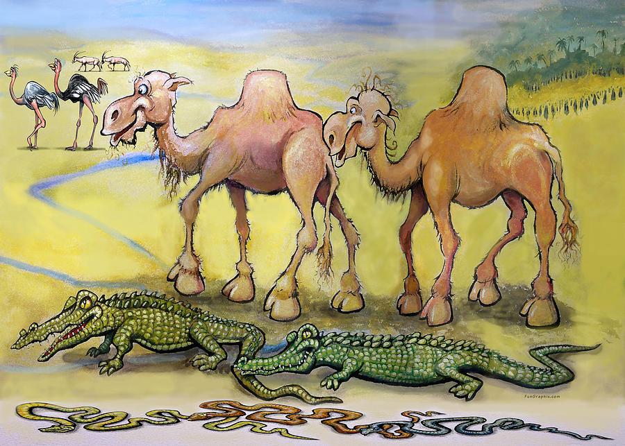 Dessert Beasts Painting