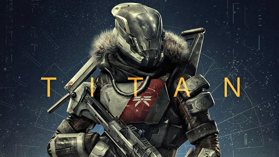 Destiny 2 Titan is a drawing by Movie Poster Prints which was uploaded ...