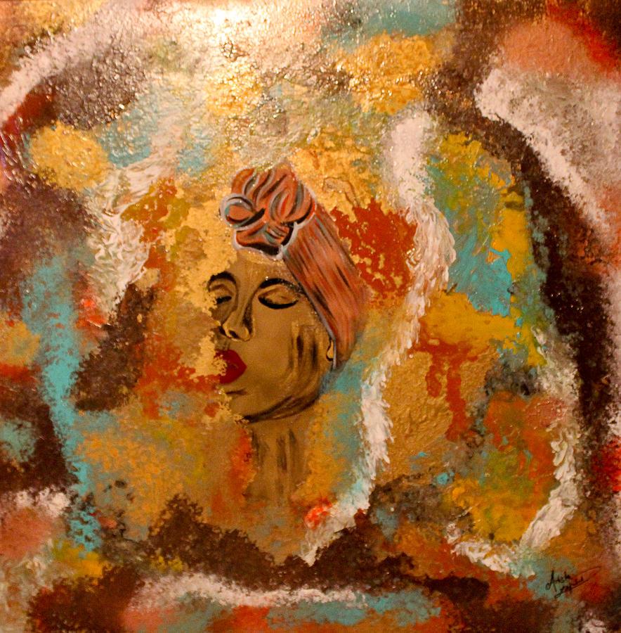 Woman Mixed Media - Destiny by Artista Elisabet