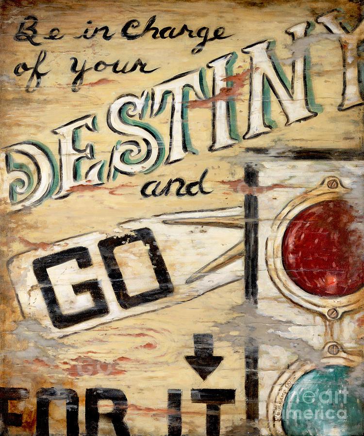 Destiny Painting - Destiny by Janet  Kruskamp