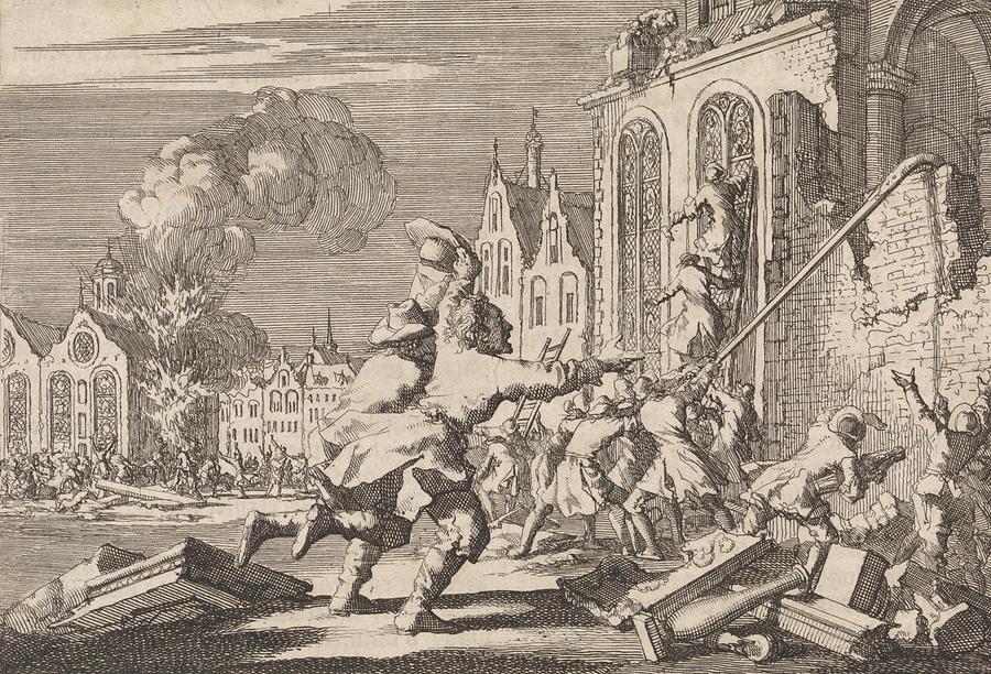 by Jan Luyken And Pieter Van D...