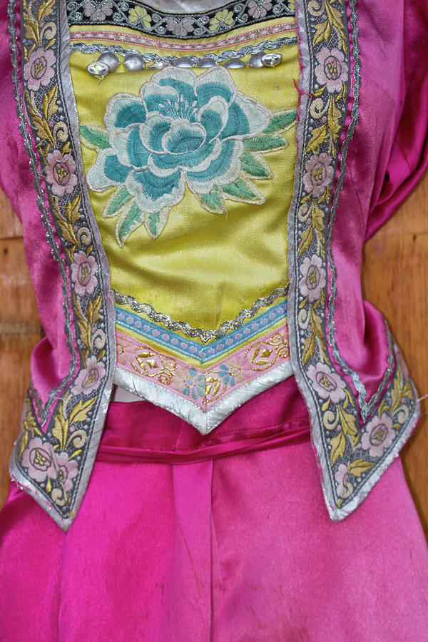 China Photograph - Details And Patterns Of Some by Darrell Gulin