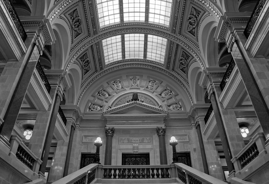 Wisconsin State Capitol Photograph - Details by Jenny Hudson