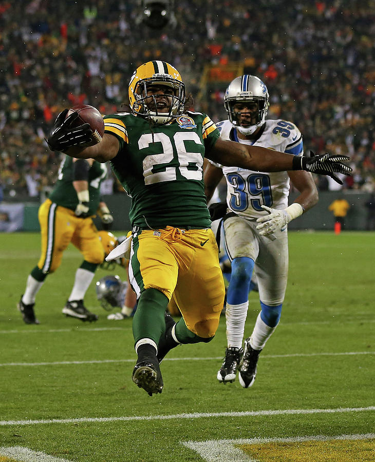 Detroit Lions V Green Bay Packers Photograph by Jonathan Daniel